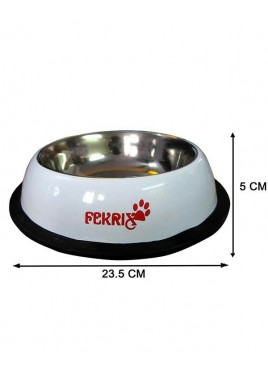 Fekrix Colored Print Dog Bowl Medium 750ml