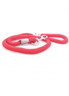 Fekrix Nylon Special Rope Leash Red