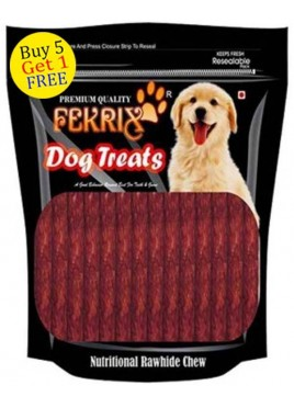 Fekrix Chew Stick Meat Flavor Dog Treats 450gm