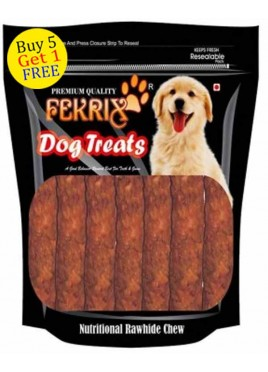 Fekrix Chew Kabab Meat Flavor Dog Treats 450gm