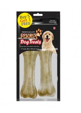 Fekrix Natural Bone Dog Treats X Large 2 pc