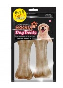 Fekrix Natural Bone Dog Treats Large 2 pc