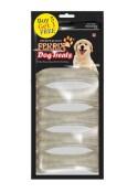 Fekrix White Bone Dog Treats Small  7 pc