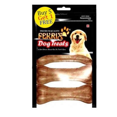 Fekrix Natural Bone Dog Treats small 4 pc
