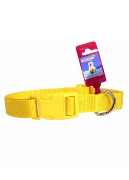 Fekrix 2 Thick Plain Nylon Dog Collar Plug 18 Inch