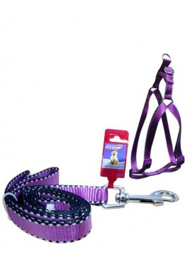 Fekrix 2 Line Leash And Harness 48 inch 16-24 Inch