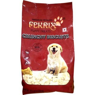 Fekrix Milk Flavour Puppy Biscuits 1kg