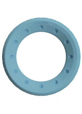 Pet Brands Foaber Roll Ring Foam Rubber Hybrid Toy Blue 10cm