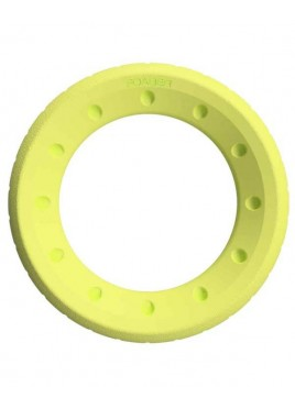 Pet Brands Foaber Roll Ring Foam Rubber Hybrid Toy Green 10cm
