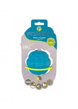 Pet Brands Foaber Bump Treat Ball Foam Rubber Hybrid Blue 9cm
