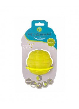 Pet Brands Foaber Bump Treat Ball Foam Rubber Hybrid Green 9cm