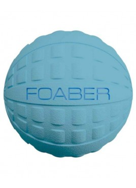 Pet Brands Foaber Bounce Ball Foam Rubber Hybrid Dog Toy, Blue 10 cm
