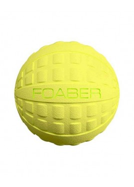 Pet Brands Foaber Bounce Ball Foam Rubber Hybrid Dog Toy, Green 7 cm