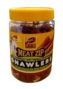 Gnawlers Meat Zip Jar Dog Treats-180g