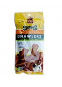 Gnawlers Meat Zip Pouch Dog Treats-40g