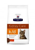 Hill's Prescription Diet Feline K/D Dry Chicken Cat Food 400Gm