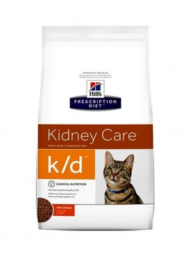 Hill's Prescription Diet Feline K/D Dry Chicken Cat Food 1.5kg