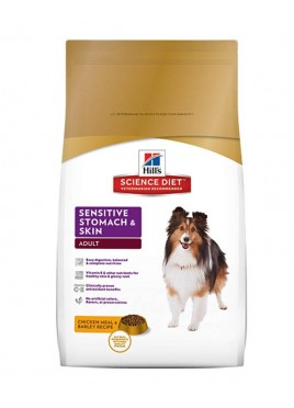 Hills Adult Sensitive Stomach & Skin for dog 12 kg