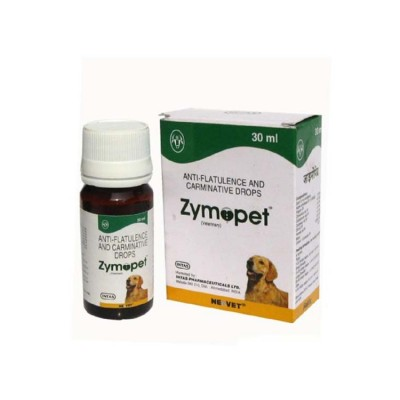 INTAS Zymopet Anti-Flatulence and Carminative Drops for dogs and  cats 30ml