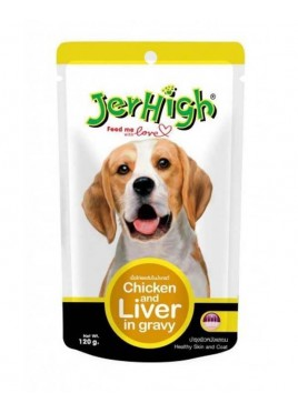 JerHigh Chicken & Liver Gravy (120gm)