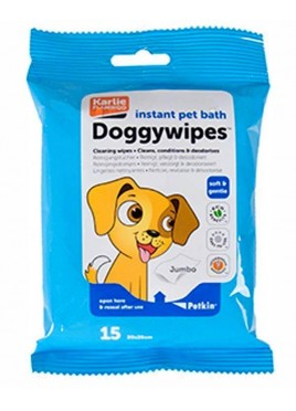 Karlie Doggy wipes Petkin 15 pcs