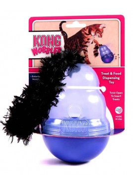 Kong Wobbler Dispenser Feeding Toy For Cat