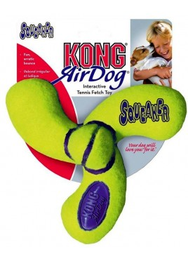 Kong Air Squeaker Spinner Dog Toy Medium