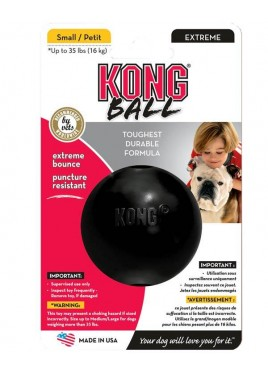Kong Extreme rubber Ball Dog Toy Small