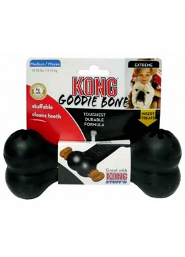 Kong Extreme Goodie Rubber Bone Dog Toy Medium
