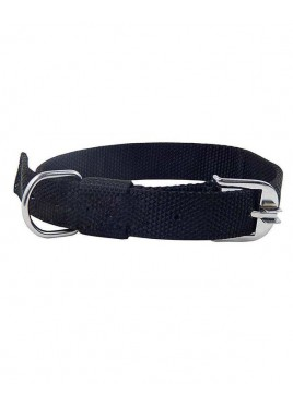 Kennel Doggy Articles Nylon Collar Black