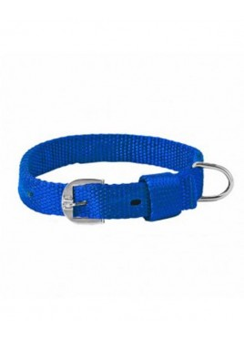 Kennel Doggy Articles Nylon Collar Blue