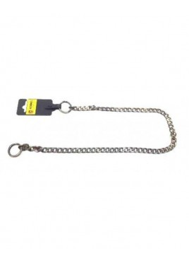 Kennel Flat Bronze Choke Chain Thick (L=26-28)