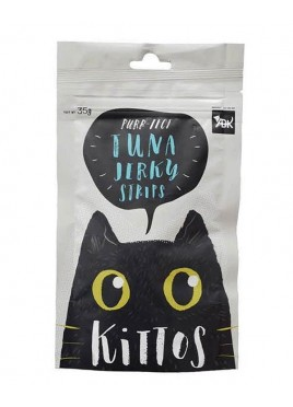 Kittos Tuna Jerky Strips Cat Snacks 35 Gm (Pack of 2)
