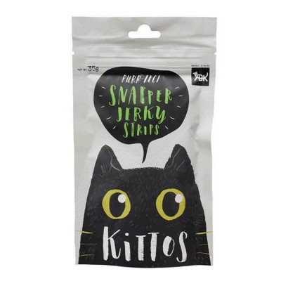 Kittos Snapper Jerky In Strips 35 Gm (Pack of 2)