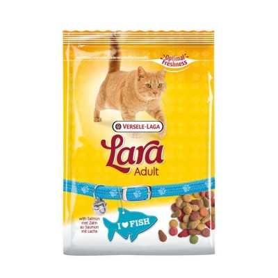 Lara Delicious Chunks With Salmon For Adult Cats 350 Gm