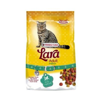 Lara Adult Indoor Anti Hairball Adult Cat Food 350 gm