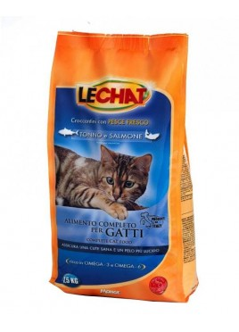 Monge Lechat Tuna and Salmon Cat Food 1.5 Kg