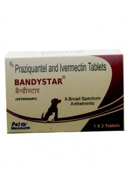Mankind Bandystar Veterinary 1x2 Tablets