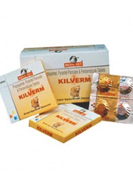 Mera Pet Kilverm Tablets For Dog