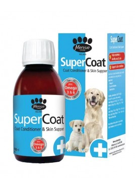Mervue SuperCoat Liquid Multi Vitamin and Mineral Supplement for Dogs 150 ml