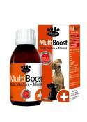 Mervue Multiboost Liquid Multi Vitamin + Mineral For Dogs 150 Ml