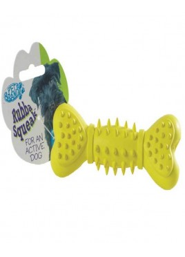 Pet Brands Dog Toy Rubber Squeak Bone