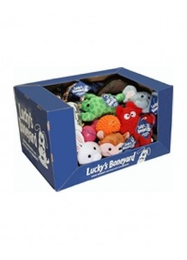 Pet Brands England Luckys Boneyard Dog Toy