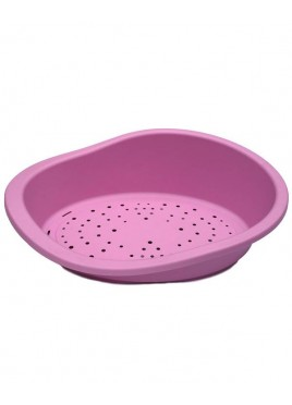 Pet Brands England Oval Medium Plastic Bed Pink