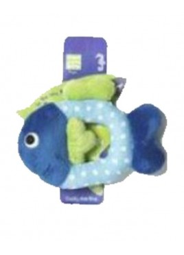 Pet Brands Fish Ring Plush Toy