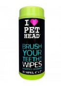 Pet Heads Dogs Teeth 50 Wipes