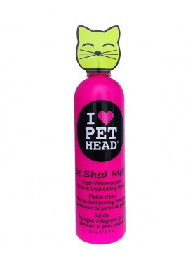 Pet Heads De Shed Me Rinse Cat Shampoo 354 ml