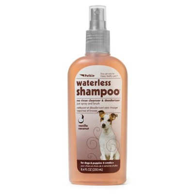 Petkin Waterless Shampoo Vanilla Coconut 250 ml