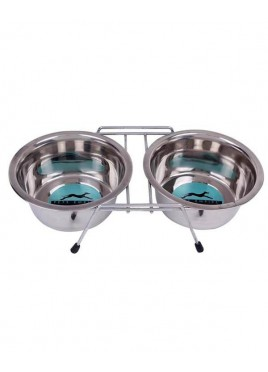 Pets Empire Double Dinner Set For Dog 1600ml