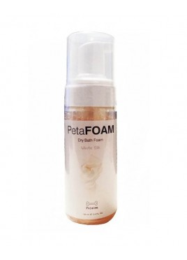 Petacom PetaFoam Dog Shampoo White Silk 160ml